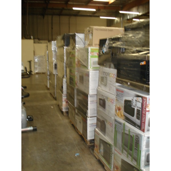 Whole Microwaves Orted Lots