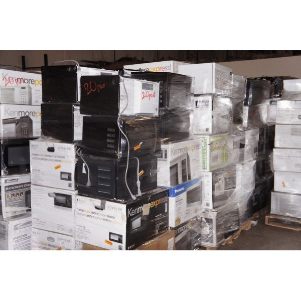 Wholesale Pallet For Sale: Assorted Microwaves Lots